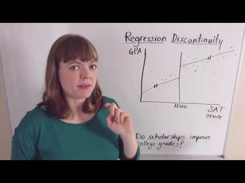 Identification, Part 2: Regression Discontinuity