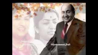 jhanan jhan baje payaliya..Rani Roopmati_Lata_Rafi_Bharat Vyas_S N Tripathi..a tribute