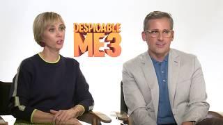 Despicable Me 3 - Steve Carell, Kristen Wiig and Miranda Cosgrove