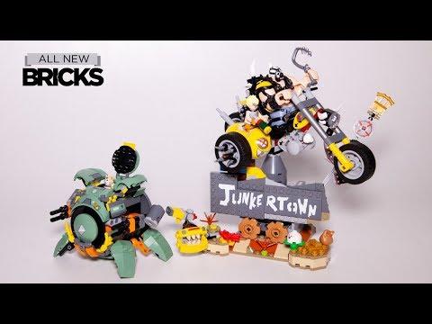 Lego Overwatch 75977 Junkrat & Roadhog with 75976 Wrecking Ball Speed Build