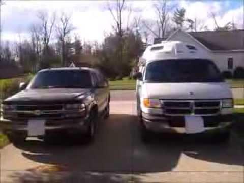 RV Van Life - Class B RV vs Suburban (Size Comparison)
