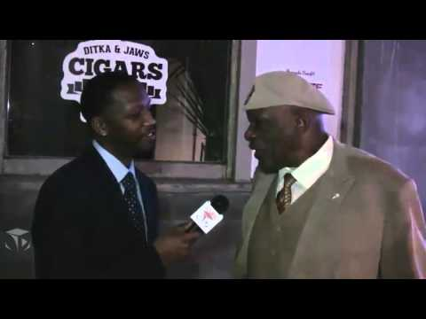Carl Eller at the Cigars with Stars Event 2016