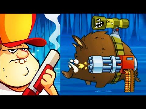 SWAMP ATTACK - БОСС ИСПЫТАНИЙ ФИНАЛЬНАЯ МИССИЯ игра на андроид для детей Свемп Аттак #Мобильныеигры