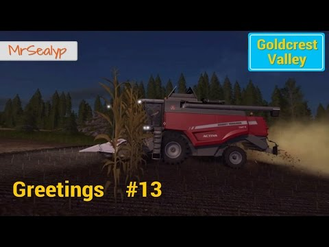 Let's Play Farming Simulator 17 PS4: Goldcrest Valley Greetings, #13