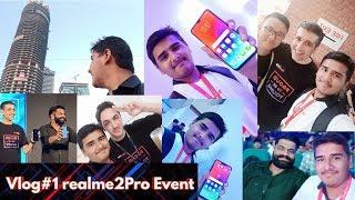RD vlog#1 realme 2 Pro Live Event Visit