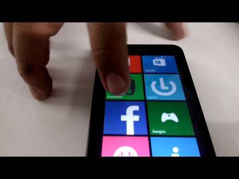 Accesorios y funciones Basicas Nokia Lumia 635