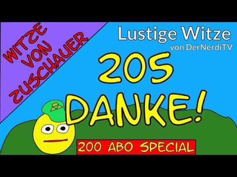 Lustige Witze - 200 Abonnenten Special Eure Zuschauerwitze