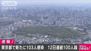 新型コロナ 東京都の新たな感染者は103人(20/04/25)