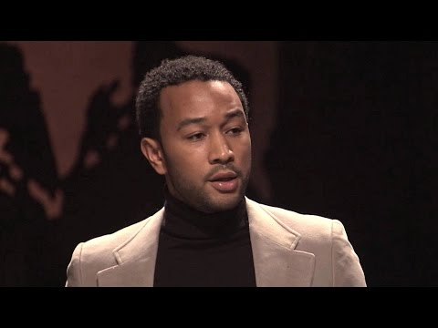 """John Legend Reads Muhammad Ali's 1966 Antiwar Speech: """"The Real Enemy of My People is Right Here"""""""