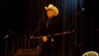 Ralph Stanley at Summersville, WV on April 4, 2009