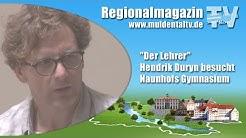 """""""Der Lehrer"""" Hendrik Duryn besucht Naunhofs Gymnasium"""