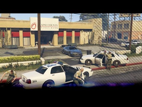 BANK OVERVALLEN! (GTA V SP33) from YouTube · Duration:  22 minutes 4 seconds