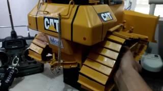rc d6n caterpillar mini trator de esteiras caseiro