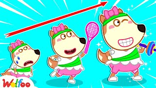 Yes Yes Exercise - Yes Yes Stay Healthy - Wolfoo Learns Healthy Habits for Kids | Wolfoo Channel