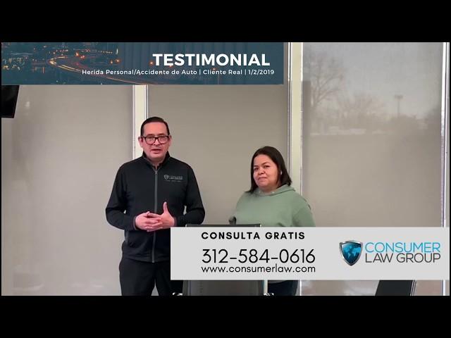 Cliente Real 1/2/20: Clienta recibe más de $60M tras accidente en auto