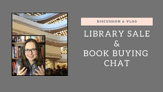 Book Buying Chat & Toronto Public Library Sale Vlog