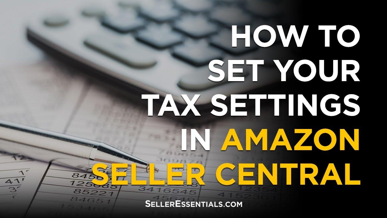 Amazon Seller Taxes Canada