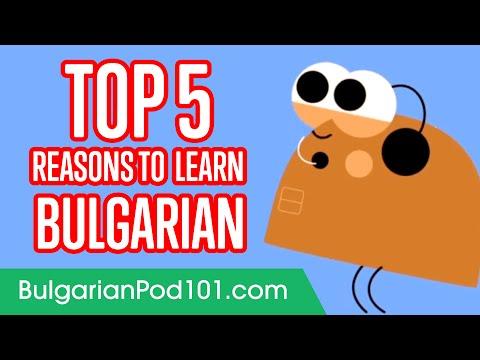 5 Reasons to Learn Bulgarian