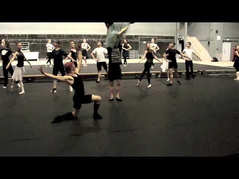 Federico Bonelli & Kremlin Ballet [rehearsal in Moscow]