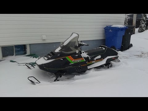1989 Arctic Cat Cougar 500 Test Ride HD