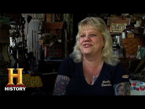 Best of American Pickers: Leopard-Print Salon Chairs   History
