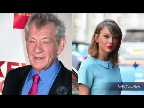 Ian McKellen says Taylor Swift threw him out of his apartment