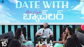 Date With Most Eligible Bachelor Ft. Akhil Akkineni | Pooja Hegde, Bhaskar | #MEBOnOct15th Image