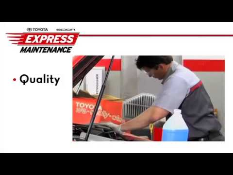 Toyota Express Maintenance At DARCARS Toyota Silver Spring