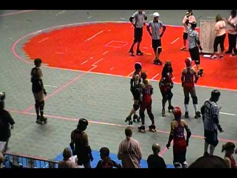 Show Me Derby-Q Regionals, 2011: Atlanta v Houston clip 2