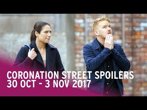 Coronation Street spoilers: 30 October-3 November 2017 - Corrie