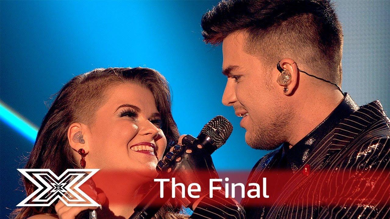 Magnifico Saara And Adam Lambert Team Up For Bohemian Rhapsody Finals The X Factor Uk 2016 You