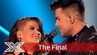 magnifico saara and adam lambert team up for bohemian rhapsody finals the x factor uk 2016
