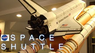 Space Shuttle Endeavor Die-cast Chogokin Tamashii Nations Bandai Review unboxing part 1