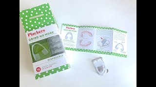 IHERB  Plackers  Grind No More  Disposable  Dental Guards   Review