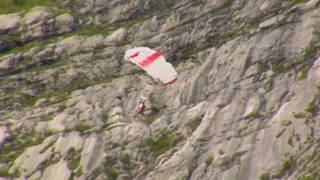 Wingsuit Base Jumping in Europe from THE SHARP END by Sender Films