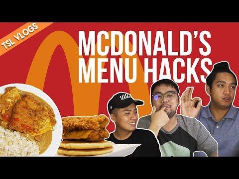 MCDONALD'S MENU HACKS | TSL Vlogs | EP 52