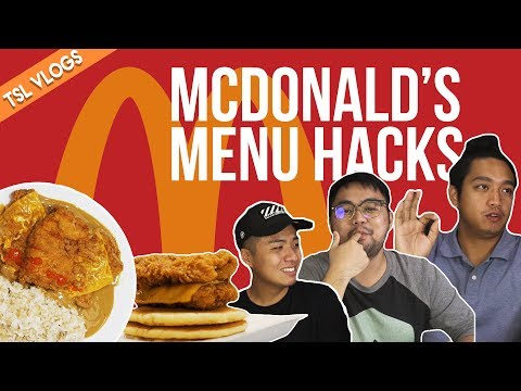 MCDONALD'S MENU HACKS | TSL Vlogs