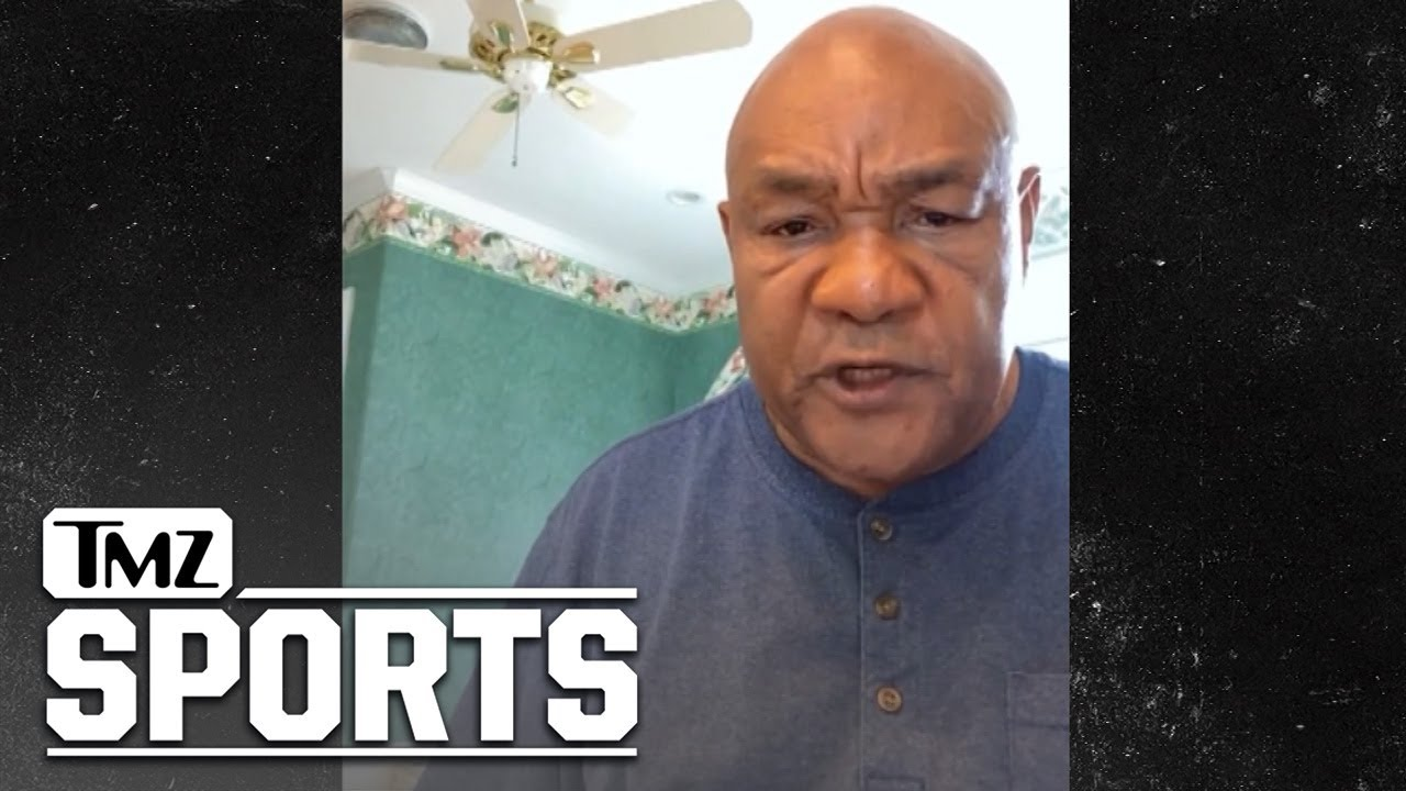 George Foreman Says He's Worried Mike Tyson & Roy Jones Jr. Will Get Hurt | TMZ Sports