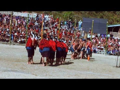 Tug of war by Ao tribe, Nagaland
