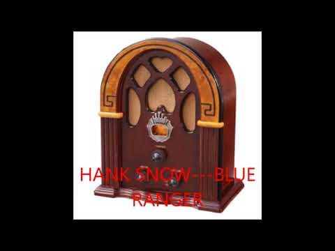 HANK SNOW   BLUE RANGER