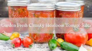 Chunky Tomato Salsa