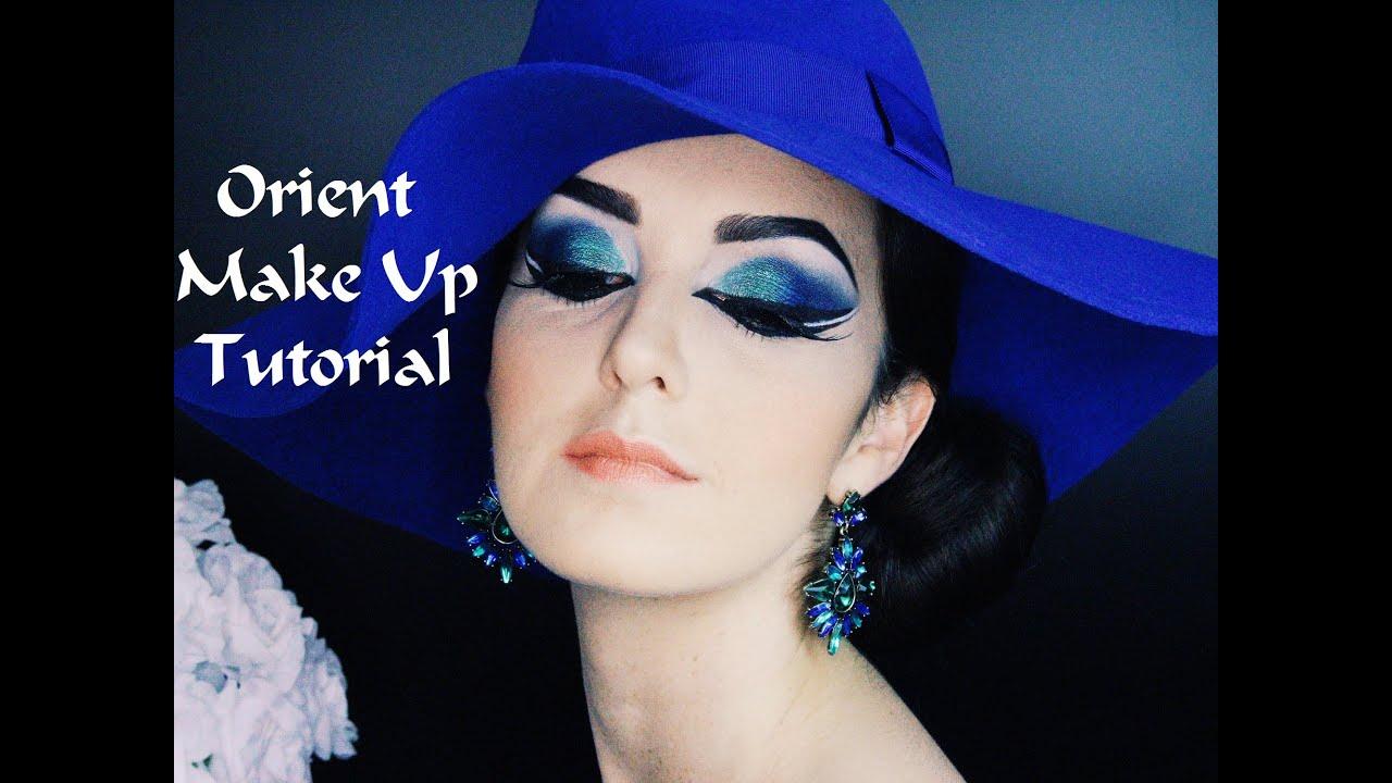 Orient Make up Tutorial Frisur Outtakes