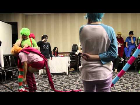 Anime Fusion 2013: Peachy Keen Trickster Homestuck Panel