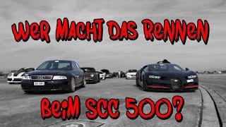 Das Rennen beim SCC 500  - Die Limo gegen Bugatti Chiron | Philipp Kaess |
