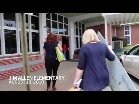 #TreatATeacher - Jim Allen Elementary School Gets a Surprise!