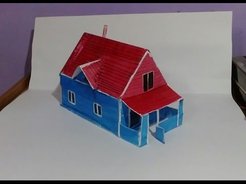 Charmant HOW TO MAKE PAPER HOUSE