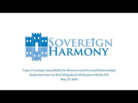 """Creating Compatibility"" - Radio Interview with Rick Delgado of All Business Media FM"