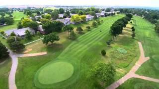 7 8 2015 Dodge City, Kansas drone golf course and legends park