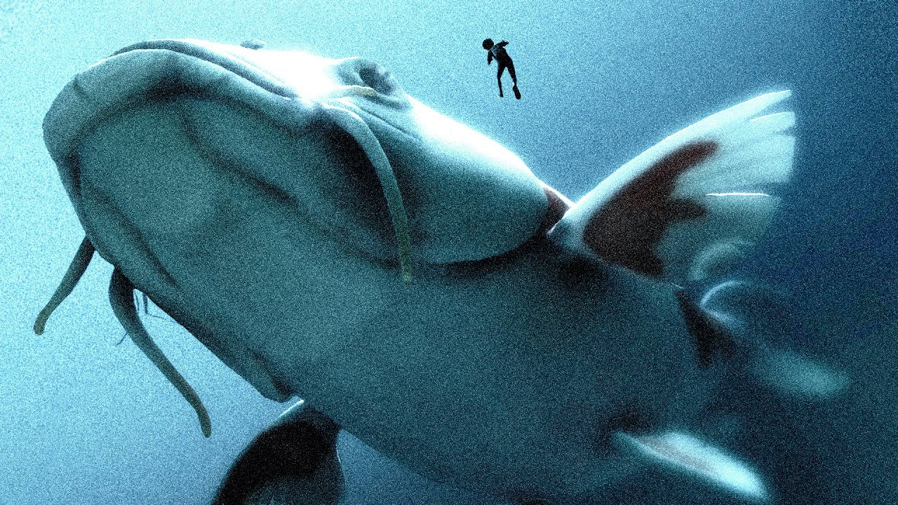 Download We Found a MASSIVE BEAST Lurking Deep in These Horrifying Waters - Grounded