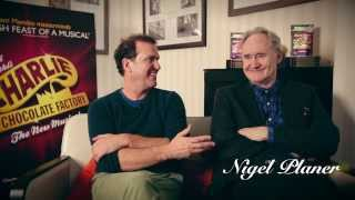 Charlie and the Chocolate Factory - Douglas Hodge and Nigel Planer Answer Your Questions Pt.1